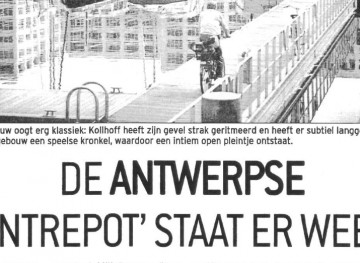 Press & News-P²-040526-DM-De Antwerpse Entrepot staat er weer-Foto-Website